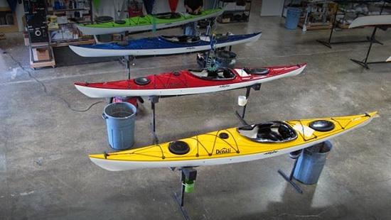 Eddyline Kayaks Warehouse
