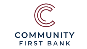 Community First Bank Logo